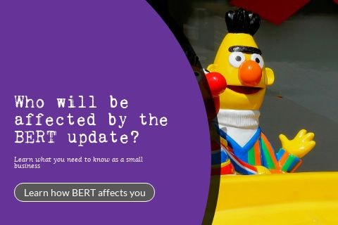 Featured image for 'who will be affected by the BERT update?'