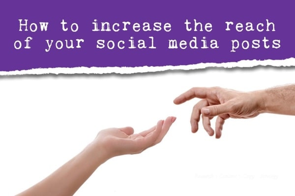 How to promote your blog on social media, increase the reach of social posts